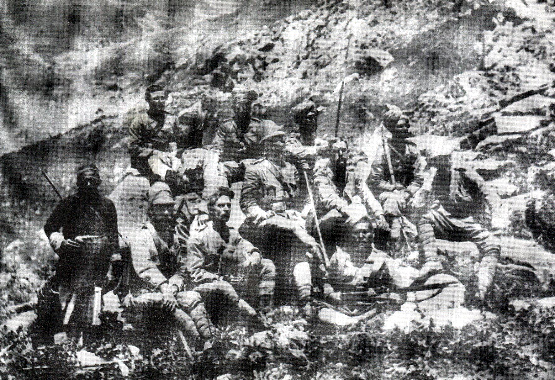 Chitral Relief Force reconnaissance party: Siege and Relief of Chitral, 3rd March to 20th April 1895 on the North-West Frontier of India