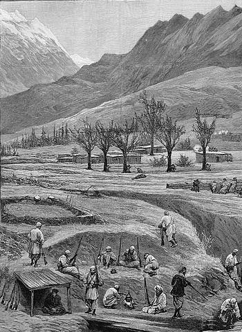 Umra Khan's Jandoli soldiers: Siege and Relief of Chitral, 3rd March to 20th April 1895 on the North-West Frontier of India