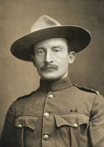 Colonel Robert Baden-Powell, British Commander at the Siege of Mafeking 14th October 1899 to 16th May 1900