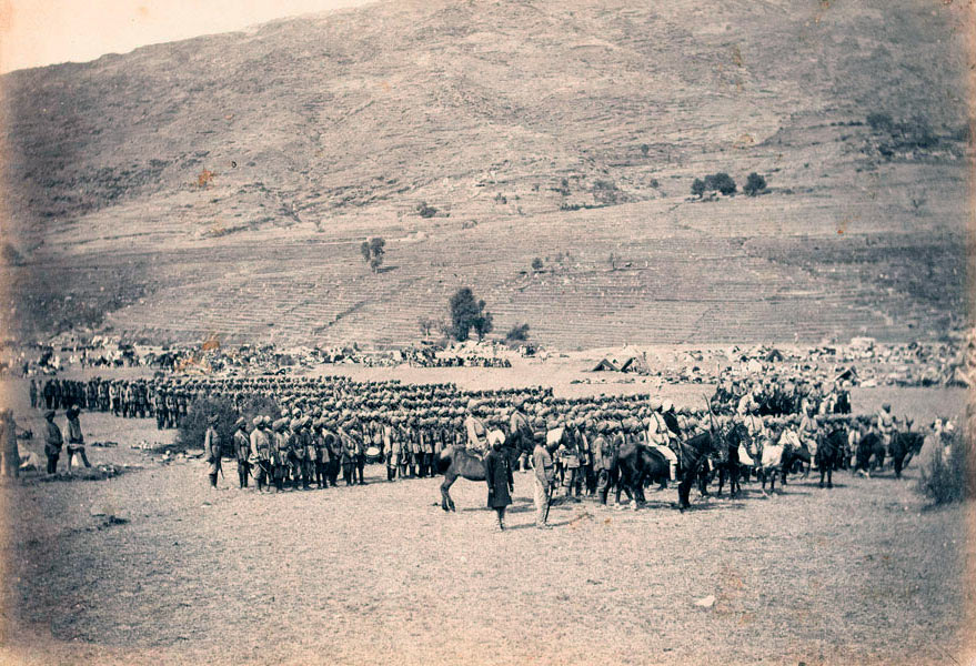 Kashmir Contingent: Black Mountain Expedition from 1st October 1888 to 13th November 1888 on the North-West Frontier of India