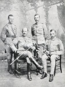 Colonel Kekewich and Lieutenant Colonel Scott-Turner: Siege of Kimberley, 14th October 1899 to 15th February 1900 during the Great Boer War