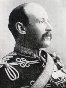 Colonel Kekewich, British commander at the Siege of Kimberley, 14th October 1899 to 15th February 1900 during the Great Boer War