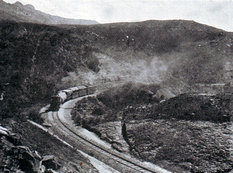 Last train out before the Siege of Ladysmith, 2nd November 1899 to 27th February 1900 in the Great Boer War