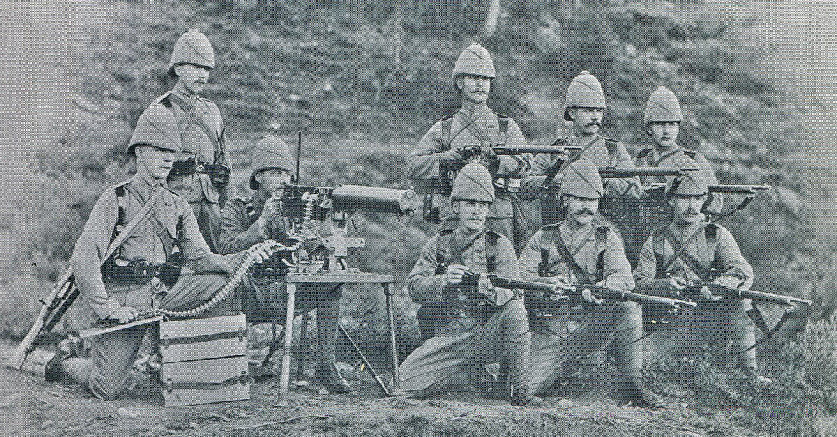 Maxim Gun detachment of 1st King's Royal Rifle Corps: Siege and Relief oaf Chitral, 3rd March to 20th April 1895 on the North-West Frontier of India