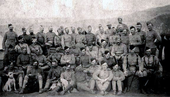Officers of the 2nd Northumberland Fusiliers: Black Mountain Expedition from 1st October 1888 to 13th November 1888 on the North-West Frontier of India