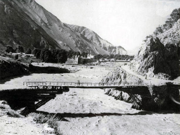 Bridge at Chitral: Siege and Relief oaf Chitral, 3rd March to 20th April 1895 on the North-West Frontier of India