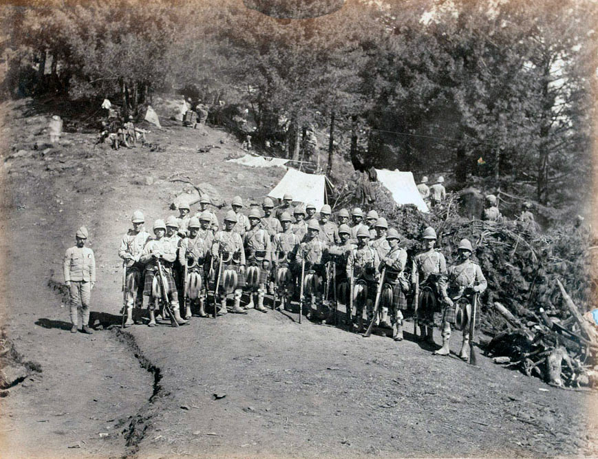 Seaforth Highlanders: Black Mountain Expedition from 1st October 1888 to 13th November 1888 on the North-West Frontier of India