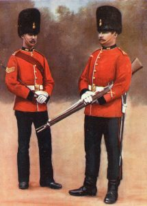 Sergeant and Private Royal Dublin Fusiliers: Siege of Ladysmith, 2nd November 1899 to 27th February 1900 in the Great Boer War