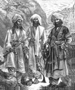 Tribesmen: Black Mountain Expedition from 1st October 1888 to 13th November 1888 on the North-West Frontier of India