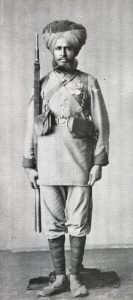 3rd Sikh Infantry: Waziristan campaign, 3rd November 1894 to March 1895, on the North-West Frontier of India