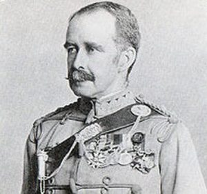 Colonel William Meiklejohn, commanding the Malakand Camp: Malakand Rising, 26th July to 22nd August 1897 on the North-West Frontier of India