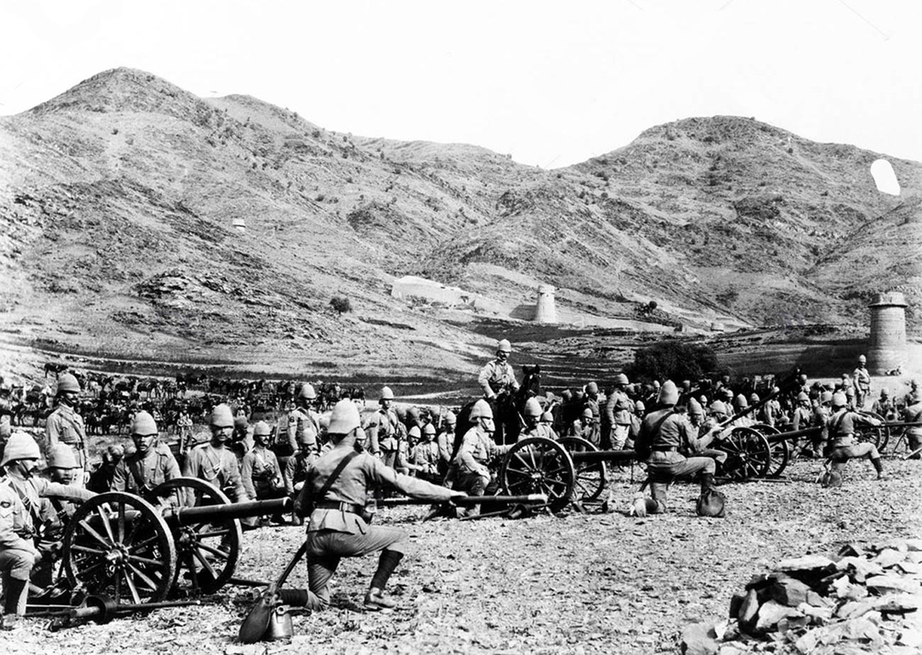 Royal Artillery Mountain Battery in action: Siege and Relief of Chitral, 3rd March to 20th April 1895 on the North-West Frontier of India