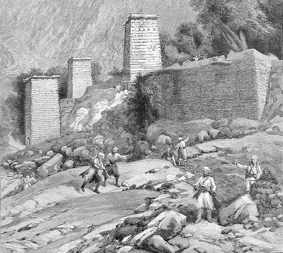 Chitral Fort: Siege and Relief of Chitral, 3rd March to 20th April 1895 on the North-West Frontier of India
