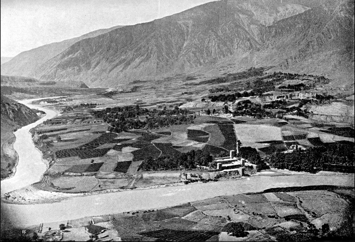 Chitral town and fort: Siege and Relief of Chitral, 3rd March to 20th April 1895 on the North-West Frontier of India