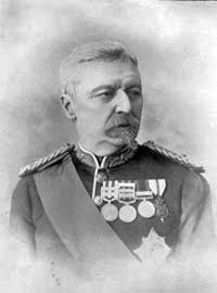 Major General Sir Robert Low, commander of the Chitral Relief Force: Siege and Relief of Chitral, 3rd March to 20th April 1895 on the North-West Frontier of India