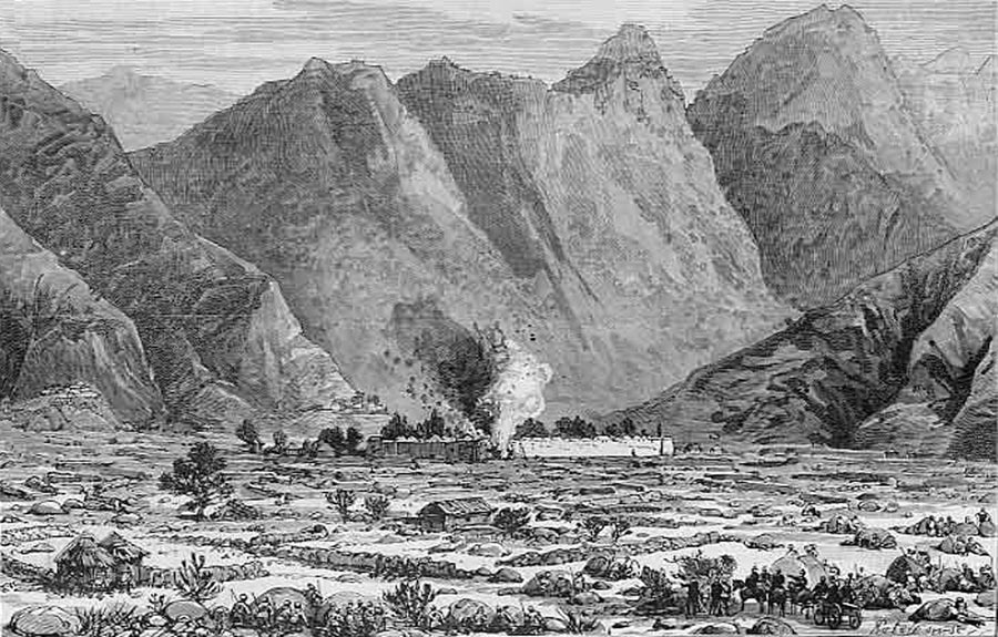 The Destruction of Maidan: Black Mountain Expedition from 1st October 1888 to 13th November 1888 on the North-West Frontier of India