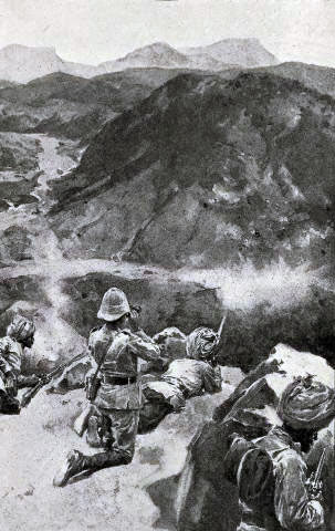 Chitral Relief Force in action: Siege and Relief of Chitral, 3rd March to 20th April 1895 on the North-West Frontier of India