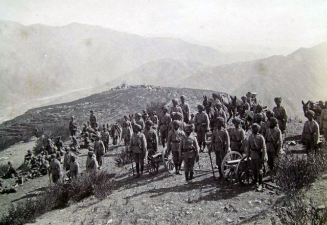 Number 2 (Derajat) Mountain Battery: Black Mountain Expedition, 1st March 1891 to 29th May 1891 on the North-West Frontier in India