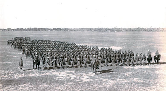 Punjab Frontier Force infantry regiment: Waziristan campaign, 3rd November 1894 to March 1895, on the North-West Frontier of India