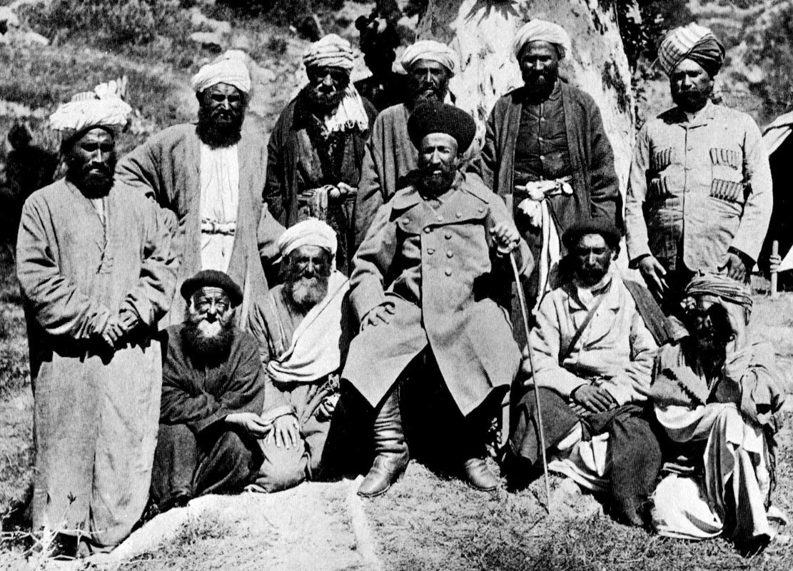 Sher Afzal and attendants: Siege and Relief of Chitral, 3rd March to 20th April 1895 on the North-West Frontier of India