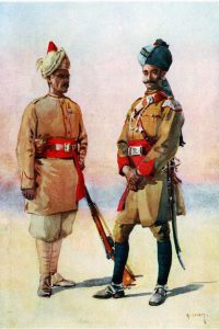 Guides Infantry and Guides Cavalry: Malakand Rising, 26th July to 22nd August 1897 on the North-West Frontier of India: picture by AC Lovett