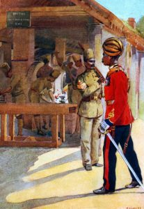 Sappers and Miners: Malakand Rising, 26th July to 22nd August 1897 on the North-West Frontier of India: picture by AC Lovett