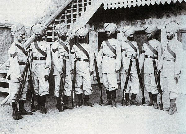 Soldiers of the 35th Sikhs: Malakand Rising, 26th July to 22nd August 1897 on the North-West Frontier of India
