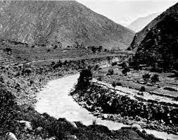 Swat River Valley at Landakai: Malakand Rising, 26th July to 22nd August 1897 on the North-West Frontier of India
