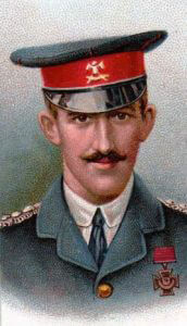 Captain Francis Grenfell VC, 9th Lancers: First Day of the Retreat from Mons and the Battle around Elouges and Audregnies, fought on 24th August 1914 in the First World War
