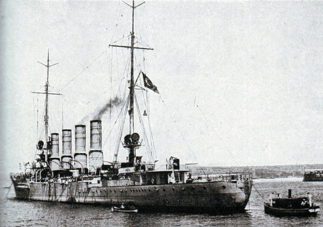SMS Breslau: German light cruiser whose escape with SMS Goeben to Constantinople in 1914 and incorporation into the Turkish navy helped push the Ottoman Empire into the camp of the Central Powers, Germany and Austria. Breslau flies the Turkish flag: Gallipoli campaign Part I: the Naval Bombardment, March 1915 in the First World War