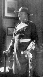 Admiral Maass, commander of the German light cruiser squadron in the Battle of Heligoland Bight on 28th August 1914 in the First World War. Maas went down with SMS Cöln, sunk by Admiral Beatty's battle cruisers