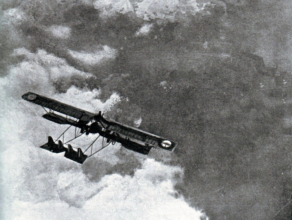 French aircraft: Battle of the Marne, fought from 6th to 9th September 1914, during the First World War
