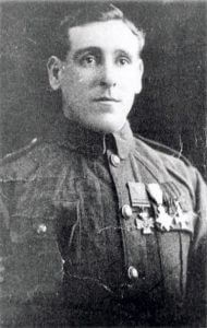Private GH Wyatt, 2nd Coldstream Guards, who won the Victoria Cross for bravery at Landrecies and Villers Cotterets: Battle of Landrecies on 25th August 1914 in the First World War