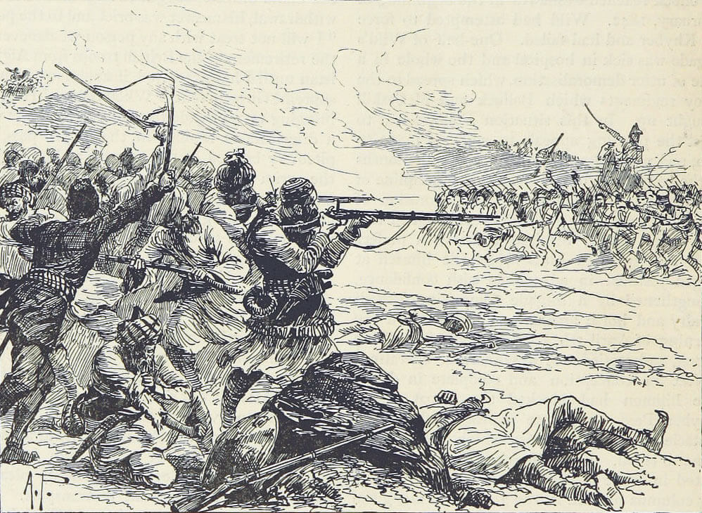 Sortie from Jellalabad: Siege of Jellalabad from 12th November 1841 to 13th April 1842 during the First Afghan War