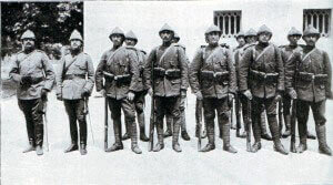 Turkish infantry: Gallipoli Part II, March 1915 to January 1916 in the First World War