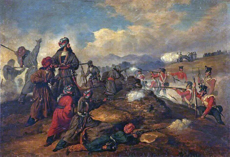 Image result for 40th Foot and Afghanistan 1842 pics