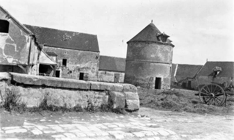 Farm in Néry occupied by C Squadron, 11th Hussars: Battle of Néry on 1st September 1914 in the First World War