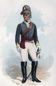 Officer of the 19th Light Dragoons: Battle of Assaye on 23rd September 1803 in the Second Mahratta War in India