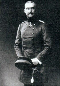 General Eric Liman von Sanders, the German officer given command of the Turkish troops on the Gallipoli Peninsula