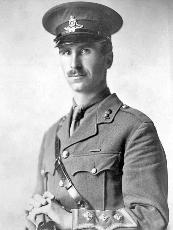 Captain David Nelson VC who won his VC as a sergeant at the Battle of Néry with L Battery Royal Horse Artillery: Battle of Néry on 1st September 1914 in the First World War