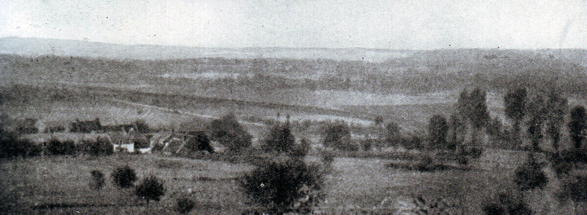 The Aisne battlefield near Braisne: Battle of the Aisne, 10th to 13th September 1914 in the First World War