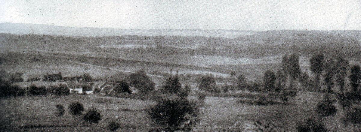 The Aisne battlefield near Braisne:Battle of the Aisne, 10th to 13th September 1914 in the First World War