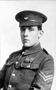 Lance Corporal Frederick Holmes VC, 2nd KOYLI: Battle of Le Cateau on 26th August 1914 in the First World War