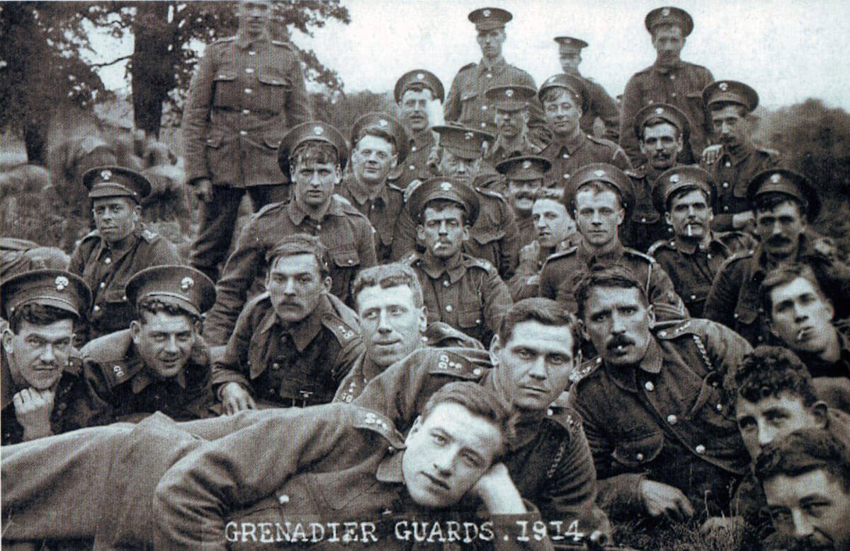 Grenadier Guards in 1914: Battle of Landrecies on 25th August 1914 in the First World War