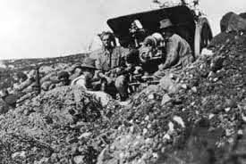 Australian gunners with an 18 pounder field gun on Anzac: Gallipoli Part III, ANZAC landing on 25th April 1915 in the First World War