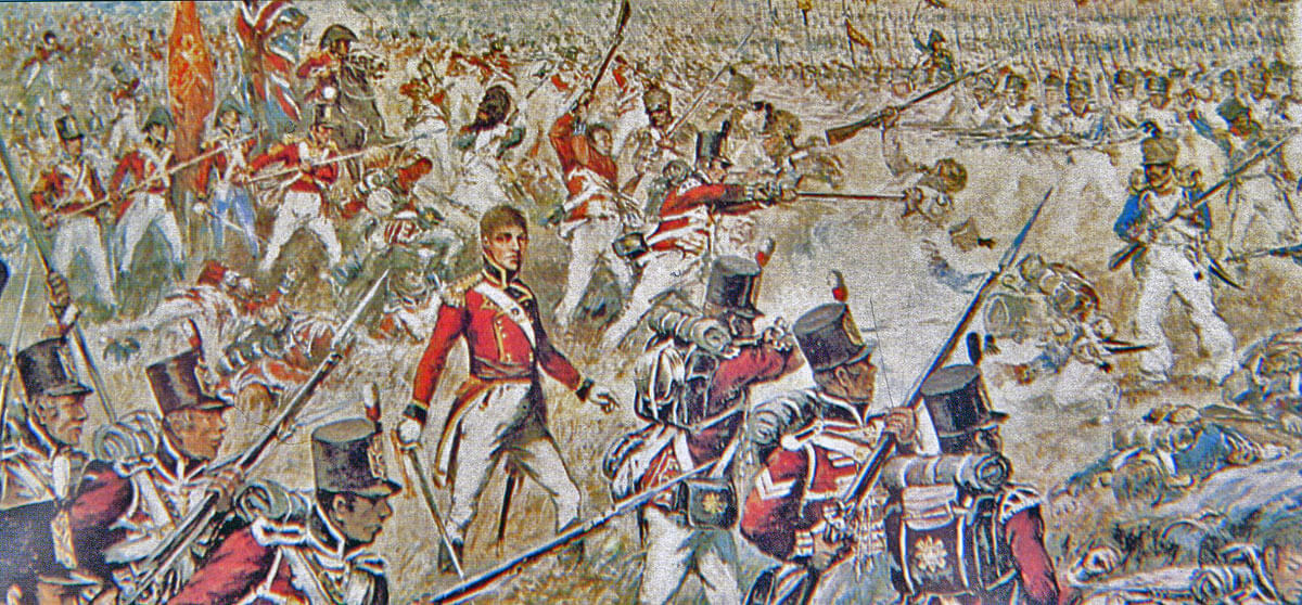 3rd Foot Guards at the Battle of Talavera on 28th July 1809 in the Peninsular War