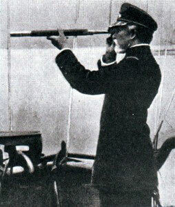 Rear Admiral Guépratte, the French naval commander at Gallipoli in 1915