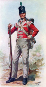 British 43rd Regiment: Battle of Fuentes de Oñoro 3rd to 5th May 1811 in the Peninsular War
