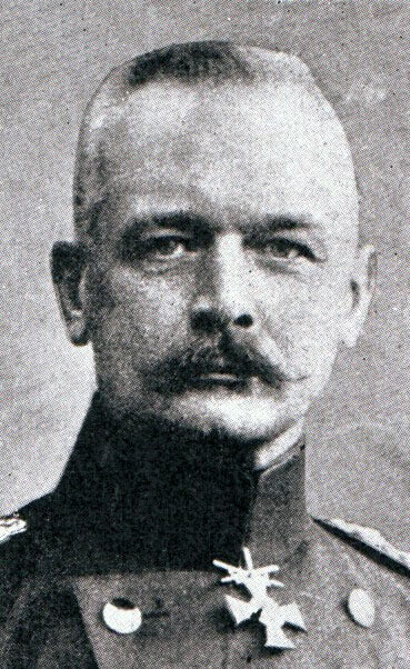 Lieutenant-General von Falkenhayn: Battle of the Aisne, 10th to 13th September 1914 in the First World War