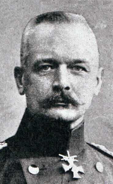Lieutenant-General von Falkenhayn:Battle of the Aisne, 10th to 13th September 1914 in the First World War